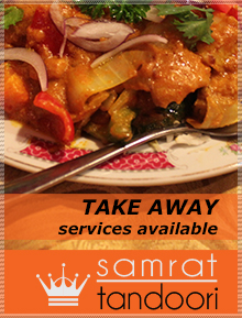 Samarat Tandoori indian restaurant, takaway and catering services with indian food recipes in adelaide south australia